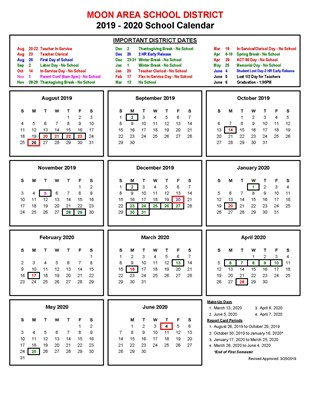 19-20 Calendar Revised March 25 2019