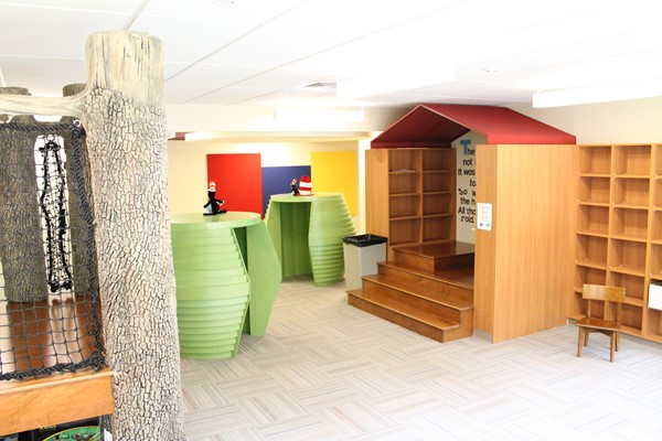 Brooks Elementary Reading Space