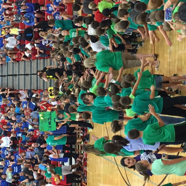 2016 Elementary Faculty/Staff Basketball Game